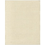 Feizy® Christopher Pure Wool Pile Contemporary Rug, 2' x 3', Ivory
