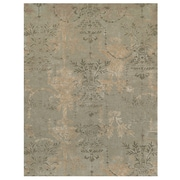 Feizy® Classique Wool and Art Silk Contemporary Rug, 8' x 11', Nickel