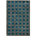 Feizy® Dim 3'6in. x 5'6in. Sum™ Wool and Art Silk Pile Contemporary Rugs