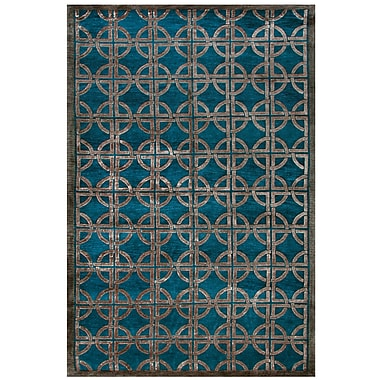 Feizy® Tao Wool and Art Silk Pile Contemporary Rug, 7'9