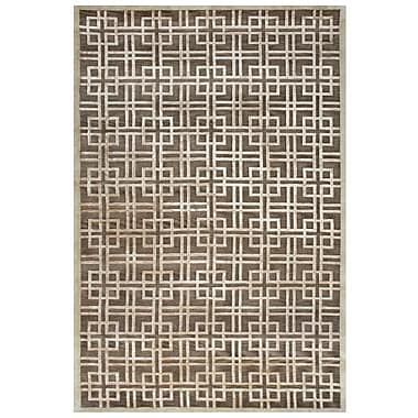 Feizy® Tao Wool and Art Silk Pile Contemporary Rug, 8'6