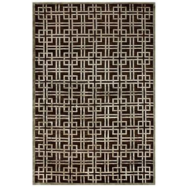 Feizy® Tao Wool and Art Silk Pile Contemporary Rug, 5'6