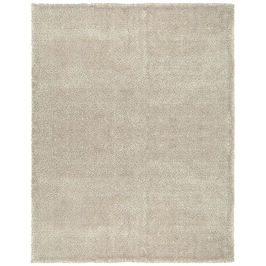 Feizy® Domus 5' x 8' Washed Wool and Polyester Shag Pile Transitional Rugs