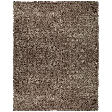 Feizy® Dimensions Washed Wool and Polyester Shag Pile Transitional Rug, 3'6