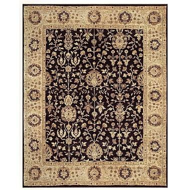 Feizy® Drake™ 8' x 8' Round Wool Pile Border Rugs