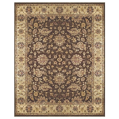 Feizy® Dover Wool Pile Border Rug, 5'6