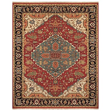 Feizy® Ihrin Pure Wool Pile Traditional Rug, 7'9