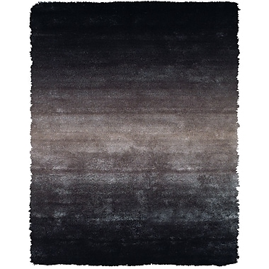 Feizy® Isleta Art Silk Shag Pile Contemporary Rug, 4'9