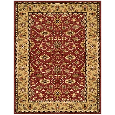 Feizy® Makenzie Pure Wool Pile Border Rug, 2'6