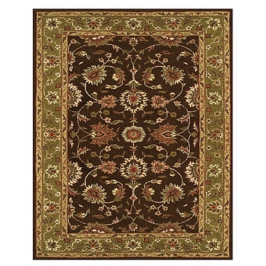 Feizy® Magellan™ 5' x 8' Pure Wool Pile Border Rugs