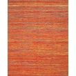 Feizy® Zambezi Art Silk and Backed Wool Cloth Transitional Rug, 5' x 8', Orange/Multi