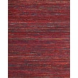 Feizy® Zambezi Art Silk and Backed Wool Cloth Transitional Rug, 5' x 8', Red/Multi