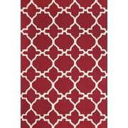 Feizy® Amalzari Pure Wool Pile Contemporary Rug, 2' x 3', Red/White