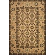 Feizy® Uttur Polypropylene Fiber Pile Border Rug, 5' x 7'6in., Tan/Brown