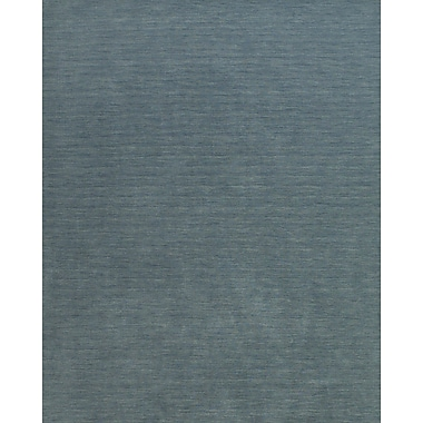 Feizy® Sonora Fine Wool Transitional Rug, 5' x 8', Smoke