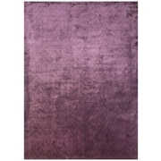 "Feizy® Sur Art Silk Pile Transitional Rug, 5'6"" x 8'6"", Plum"