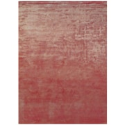 "Feizy® Sur Art Silk Pile Transitional Rug, 5'6"" x 8'6"", Rust"