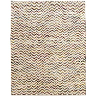 Feizy® Gobi Cotton and Wool Contemporary Rug, 2' x 3', Multi