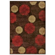 Feizy® Soho Saphir Rug, 5' x 8', Dark Chocolate/Multi