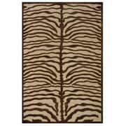 Feizy® Soho Rug, 5'x8', Ivory/Chocolate