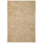 Feizy® Soho Silk Pile Transitional Rug, 7'6 x 7'6 Round, Ivory