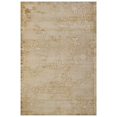Feizy® Soho Art Silk Pile Floral Rug, 7'6