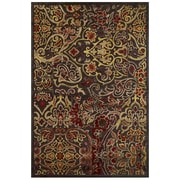 Feizy® Soho Rug, 8'x11', Dark Chocolate/Rust