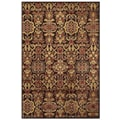 Feizy Soho II Rug, Dark Chocolate/Multi