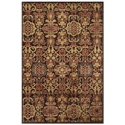 Feizy® Soho II Rug, 8'x11', Dark Chocolate/Multi