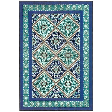 Feizy® Soho Laois Art Silk Pile Contemporary Rug, 2'2