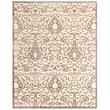 "Feizy® Soho Penelope Art Silk Pile Contemporary Rug, 9'8"" x 12'7"", Cream/Gray"