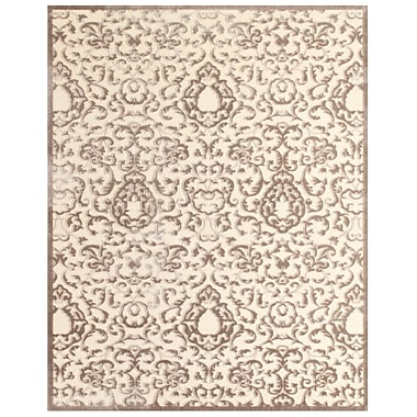 Feizy Soho II Rug, 5'x8', Cream/Gray