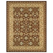 Feizy® Valencia Polypropylene Fiber Pile Traditional Rug, 5'3in. x 7'9in., Chocolate/Latte