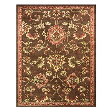 Feizy® Valencia Rug, 5'x8', Brown/Multi