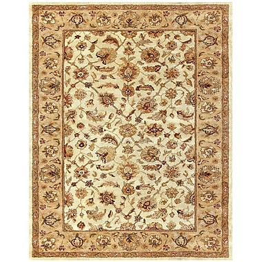 Feizy® Ziba™ 10' x 10' Round Pure Wool Pile Traditional Rugs