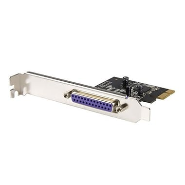Startech.com® PEX1P 1 Port PCI Express Dual Profile Parallel Adapter Card