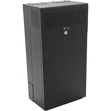 BlackHawk Labs® MiniRaQ 10U Secure Tall Rack Cabinet