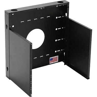 BlackHawk Labs® MiniRaQ 8U Standard Open Rack Cabinet