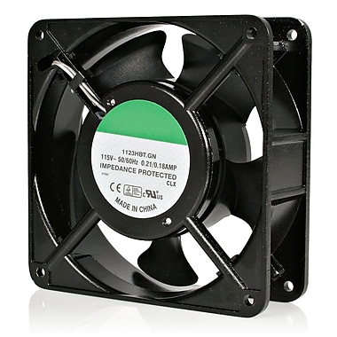 Startech.com® ACFANKIT12 12cm AC Fan Kit For Server Rack Cabinet