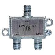 STEREN® 200-222 2-Way RF Splitter