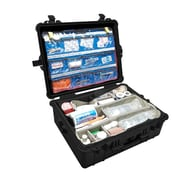 Pelican® 1600EMS Case With EMS Organizer/Divider, Black/Clear