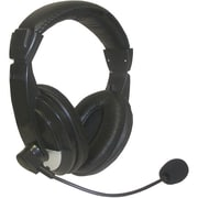 Nady® QHM-100 Stereo Headphone With Boom Microphone