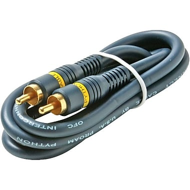STEREN 254-125BL 25' RCA Audio/Video Cable, Blue