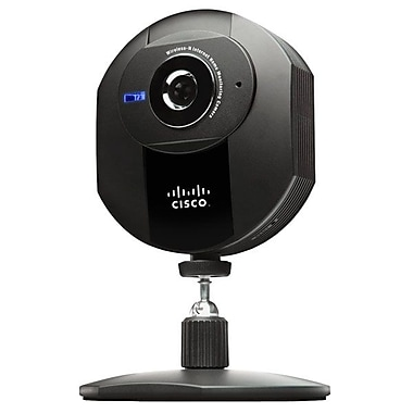 CISCO™ Home Monitoring Daylight/Indoor Low Light Wireless-N Internet Camera