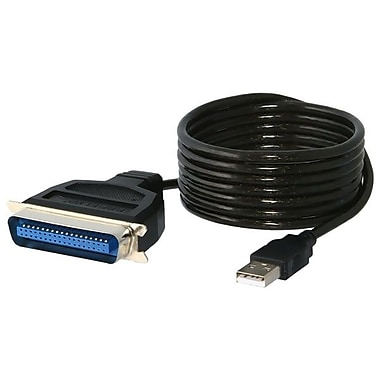 Sabrent 6' USB 2.0 Male to Male Converter Adapter Cable, Multi Color