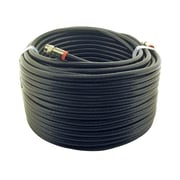 STEREN® 50' Coaxial Patch Cable, Black