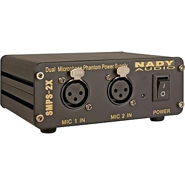 Nady® SMPS-2X 48 V 2-Channel Phantom Power Supply