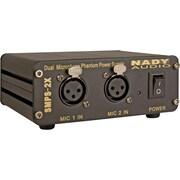 Nady® SMPS-2X 48 V 2-Channel Phantom Power Supply