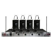 Nady® 401X-QUAD-LT/E4/F Wireless Microphone System