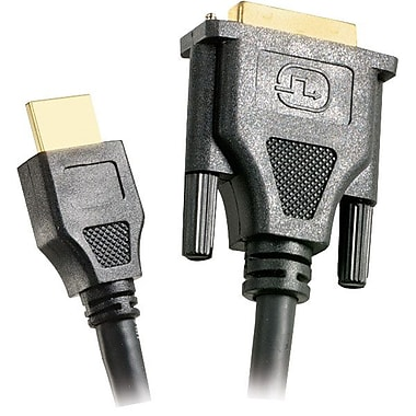 STEREN® 6' DVI-D to HDMI Standard Cable, Black